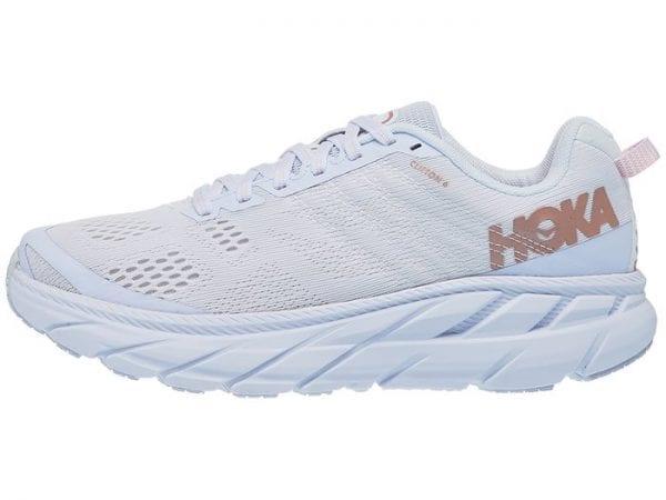 Hoka Clifton 6 Womens White Gold
