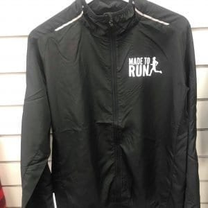 Made to Run Women's Windshield Jacket with reflective bands