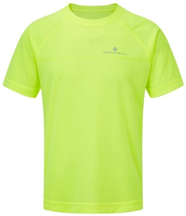 Ron Hill Men's Everyday S/S Tee Fluo Yellow