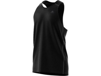 Adidas Men's Own the Run Vest - Black